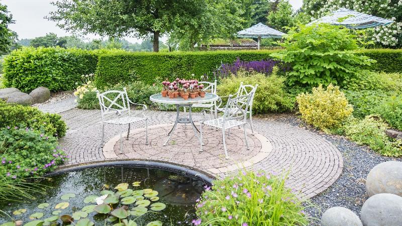 Les différents éléments et plantes pour la conception d'un jardin paysager à Vichy   Xavier Paysage